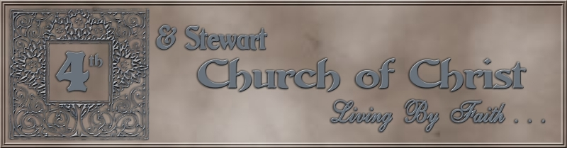 Masthead - 4th & Stewart Church of Christ